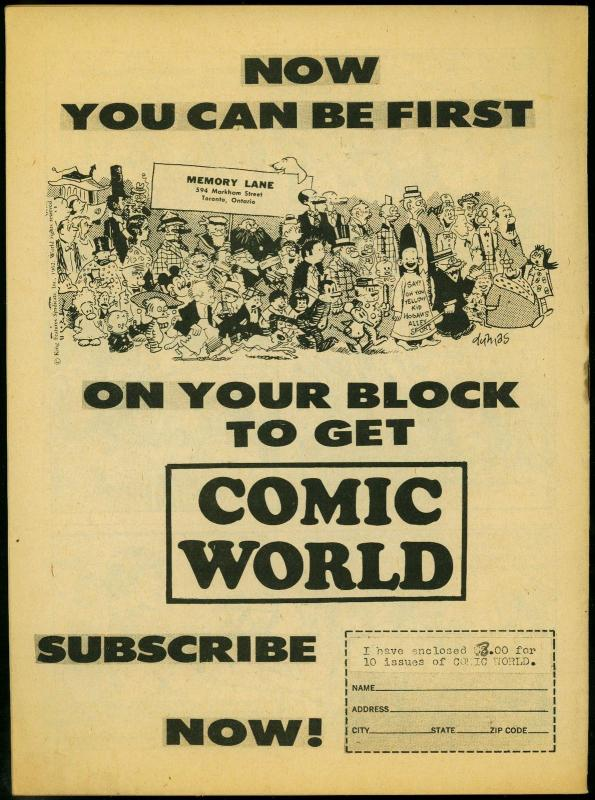 Comic World Presents Hal Foster's Tarzan- Rebels of the Mine FN