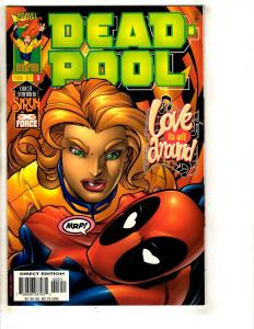 Deadpool # 3 NM Marvel Comic Book X-Force X-Men Cable Domino Wolverine DB13