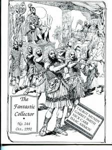 Fantastic Collector #244-1992-Caz-Talbot Mundy-Isaac Asimov-Nick Carr-fanzine-FN