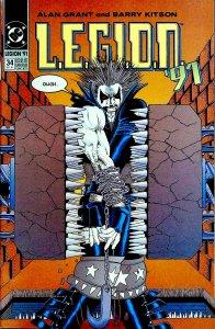 L.E.G.I.O.N. #34 (1991)