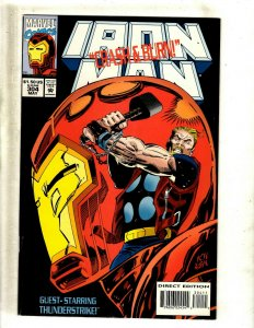 Iron Man # 304 NM Marvel Comic Book Avengers Hulk Thor Captain America J462