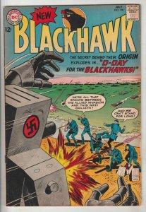 Blackhawk #198 (Jul-64) FN/VF Mid-High-Grade Black Hawk, Chop Chop, Olaf, Pie...