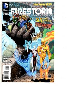 4 The Fury of Firestorm: The Nuclear Men DC Comic Books # 9 10 11 12 New 52 LH1