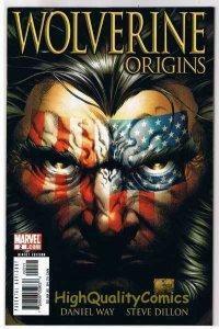 WOLVERINE : ORIGINS #2, VF+, Daniel Way, 2006, Steve Dillon, Joe Quesada
