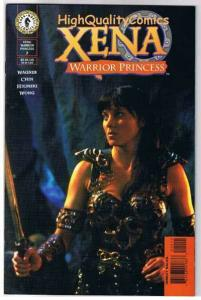 XENA WARRIOR PRINCESS 2, NM, Romans, Lucy Lawless, 1999, more Xena in store