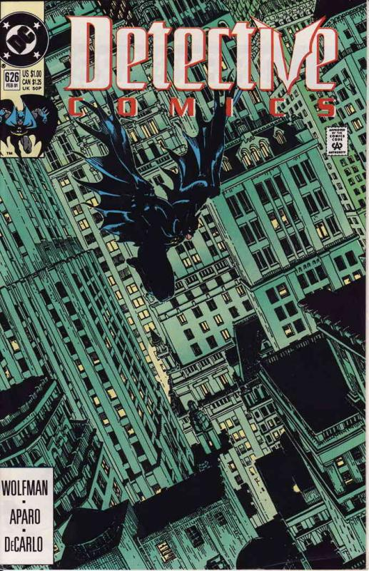 Detective Comics #626 VF/NM DC - save on shipping - details inside