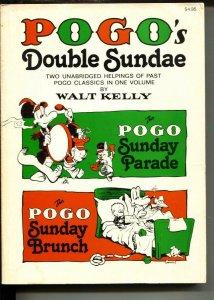 POGOs Double Sundae-Walt Kelly-Paperback-VG