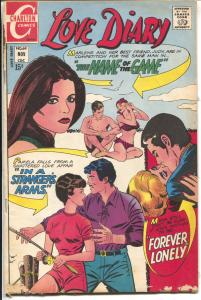 Love Diary #69 1970-Charlton-swimsuit cover-spicy Tahitian woman story-G/VG