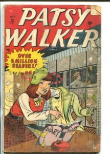 PATSY WALKER #17-1948-HARVEY KURTZMAN-GOOD GIRL ART-good