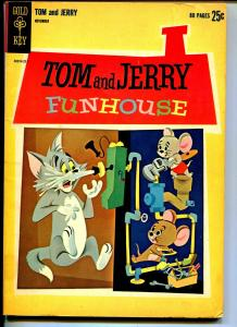 Tom and Jerry #213 1962-Funhouse-1st Gold Key-Giant issue-VG+