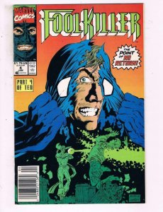 FOOL KILLER #4, NM-, So many Fools, so little Time, 1990 1991, Foolkiller, Marve