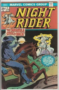 Night Rider # 5 Strict VF/NM The Tarantula Reprints original Marvel Western 5th