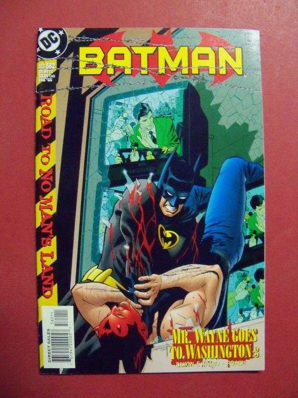 BATMAN #562 (Near Mint 9.4 or better) DC COMICS  1999