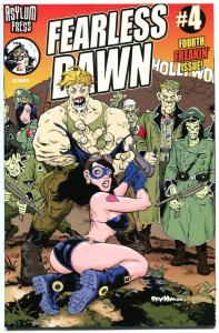 FEARLESS DAWN #4,  NM, Steve Mannion, 2009, Femme Fatale, more in store
