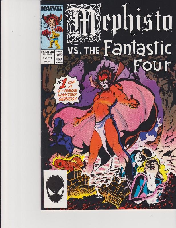 b9cf128385 Mephisto vs the Fantastic Four #1 Marvel Comics / HipComic