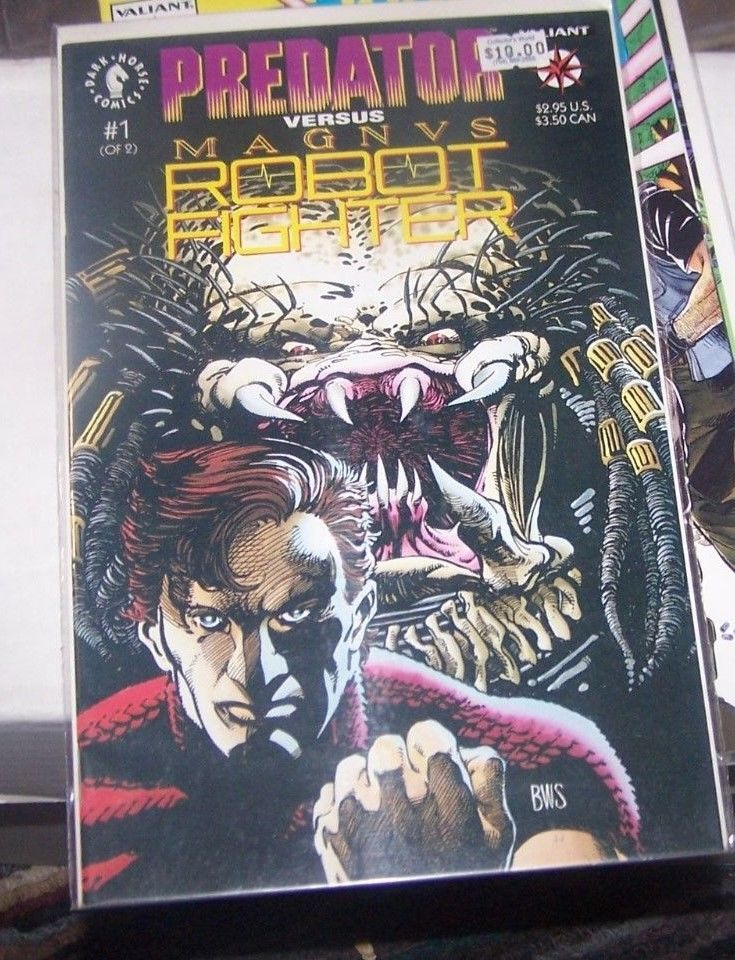 Modern Age (1992-now) Predator Vs Magnus Robot Fighter Comic Set #1-2 Lot