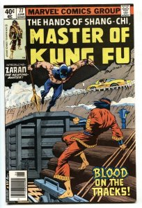 Master of Kung Fu #77 1979 comic book 1st appearance of Zaran