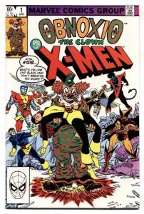 OBNOXIO THE CLOWN #1, NM, X-men, Kupperberg, Marvel, 1983 more Marvel in store