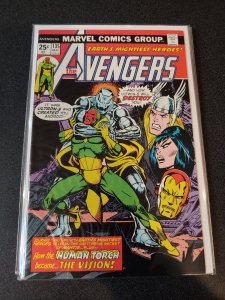 Avengers #135 VF Marvel Comics (May 1975)Origin of Vision Continued