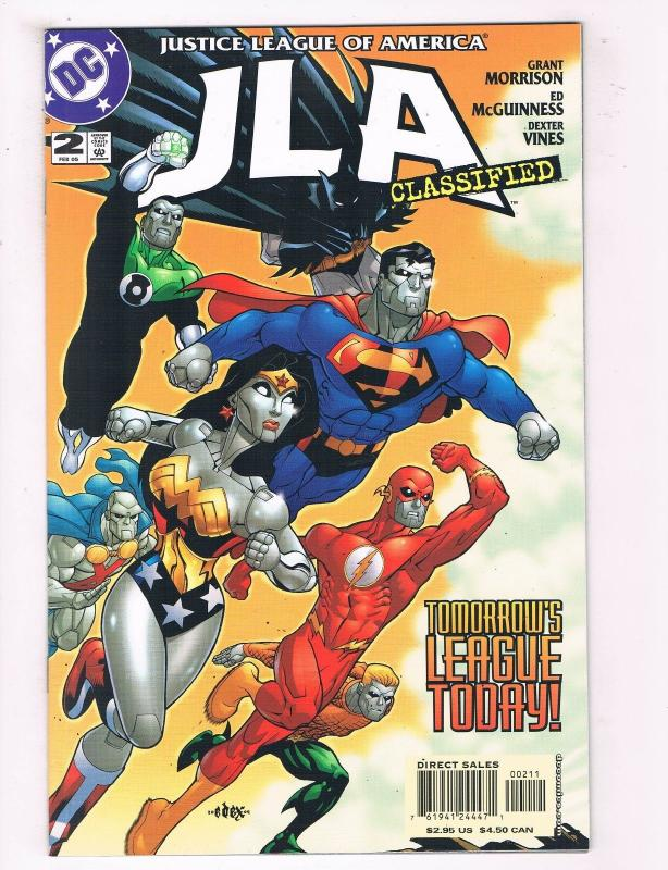 JLA Classified #2 FN DC Comics Comic Book Morrison Feb 2005 DE37 TW7
