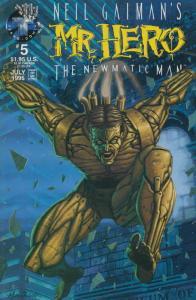Mr. Hero-The Newmatic Man (Neil Gaiman's…, 1st Series) #5 VF/NM; Tekno | save on