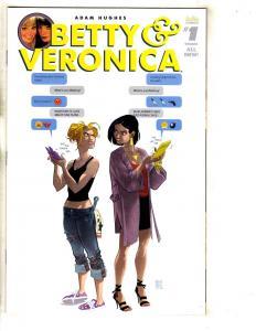 Betty & Veronica # 1 NM Variant Cover Archie Comic Book Adam Hughes Perez J316