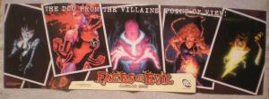 FACES OF EVIL Promo Poster, Shazam, Catwoman, Unused, more in our store