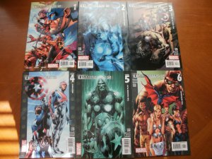 6 Marvel Comic:THE ULTIMATES 2 #1 #2 #3 #4 #5 #6 (2005) Captain America Iron Man