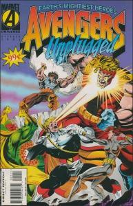 Marvel AVENGERS UNPLUGGED #1 FN/VF