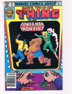 Marvel Two In One #94 VF Marvel Comic Group Comic Book Thing Dec DE23
