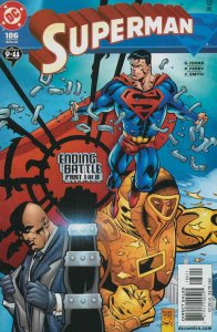 Superman (2nd Series) #186 VF/NM; DC   we combine shipping
