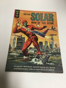 Doctor Solar Man Of The Atom 10 Fn- Fine- 5.5 Gold Key Silver Age