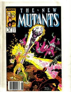 Lot of 12 New Mutants Marvel Comics #54 55 57 58 59 60 61 62 63 64 65 66 J411