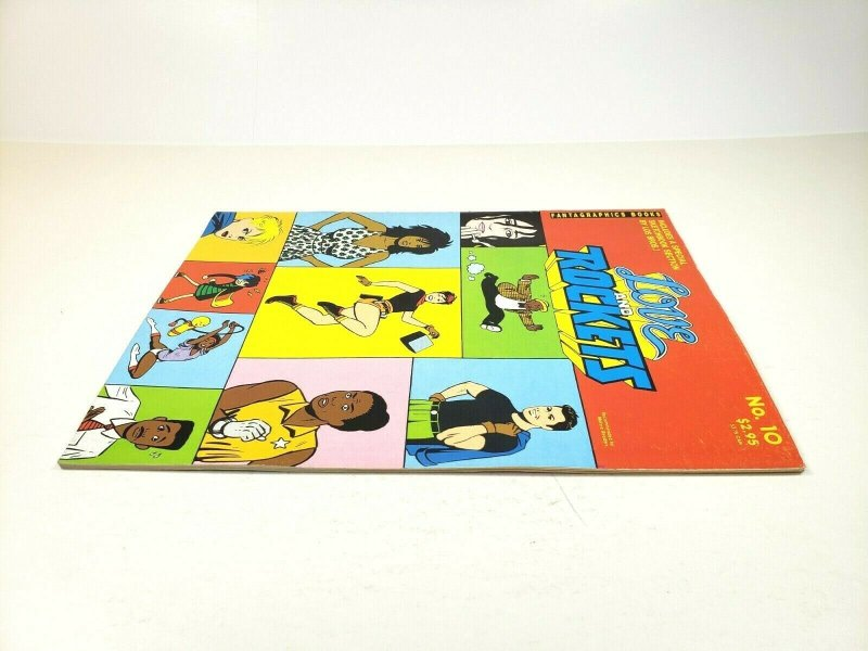 LOVE and ROCKETS No. 10 Fantagraphics Second Printing 1985 Adult Comic Magazine