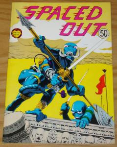 Spaced Out #1 VG (1st) print mint underground comix 1972 thomas byrd