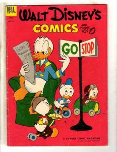 Walt Disney's Comics & Stories # 151 VG/FN Dell Golden Age Comic Book JL19