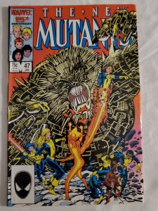 New Mutants 47 Fine/Very Fine Cover art by Barry Windsor-Smith