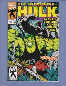 Incredible Hulk #402 VF/NM Juggernaut Red Skull Marvel 1993