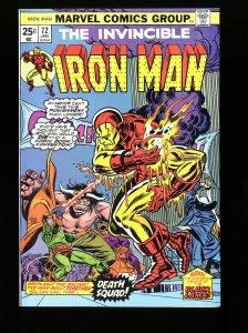 Iron Man #72 VF/NM 9.0