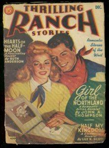 THRILLING RANCH STORIES DEC 1944-RUTH ANDERSON-PULP WES FR/G