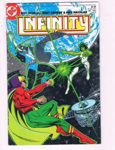 Infinity Inc. #9 VF DC Comics Comic Book Thomas DE14