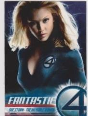 2005 Upper Deck Fantastic Four Movie SUE STORM-THE INVISIBLE WOMAN #3