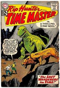 RIP HUNTER . . TIME MASTER #7 (Mar1962) 4.5VG+ * Book-Length ALEX TOTH Artwork!