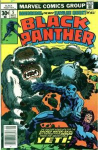 Black Panther #5 FN; Marvel | save on shipping - details inside