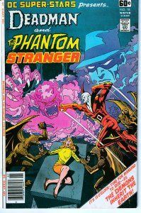 DC Super Stars # 18  Deadman ! Phantom Stranger ! Dr. 13 !