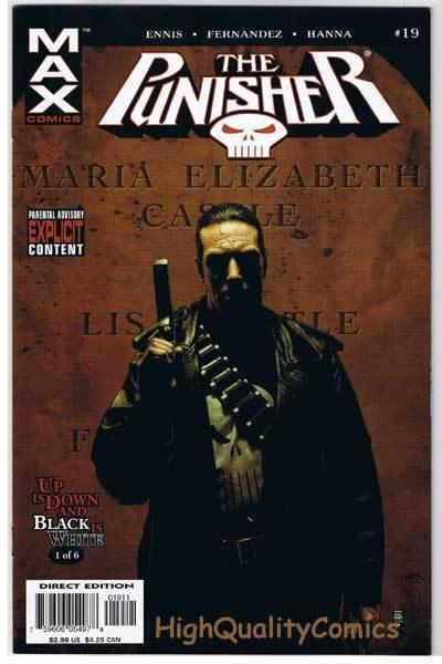 PUNISHER #19, VF+, Garth Ennis, Fernandez, 2005, more in store