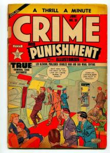 CRIME AND PUNISHMENT #51 1952-LEV GLEASON-G/VG