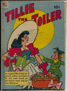 Tillie The Toiler-Four Color Comics #195 1948-Dell-Russ Westover-VG