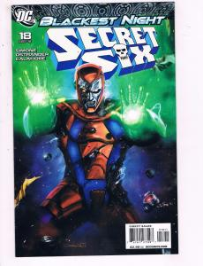 Secret Six #18 VF DC Comics Blackest Night Comic Book Simone 2010 DE12