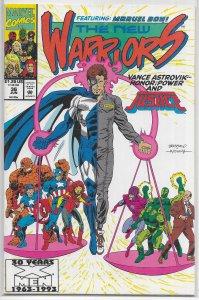 New Warriors   vol. 1   #36 VF/NM